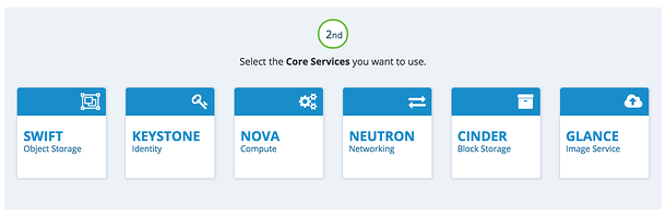 OpenStack Newton select core services
