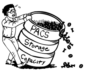 PACS Electronic Medical Records Storage Challenges