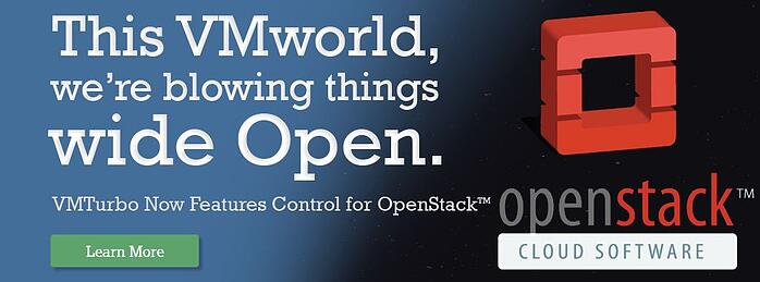 VMWorld Release: VMTurbo Offers Control for OpenStack