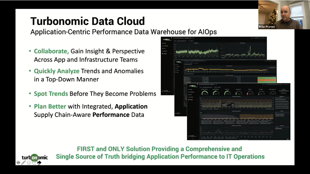 Turbonomic Data Cloud Summary Slide